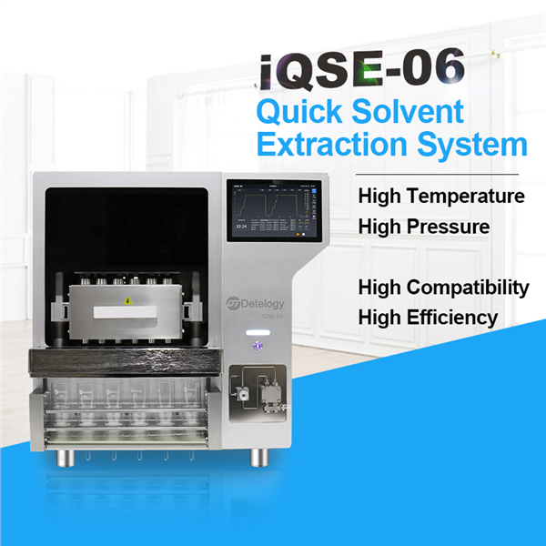 iQSE-06 Quick Solvent Extraction System